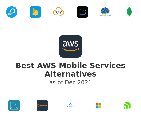 Best AWS Mobile Services Alternatives