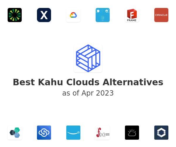 Best Kahu Clouds Alternatives
