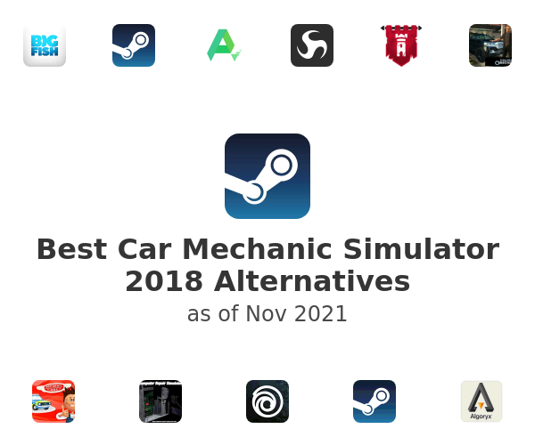 Best Car Mechanic Simulator 2018 Alternatives