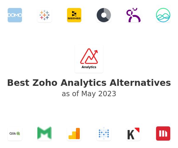 Best Zoho Analytics Alternatives