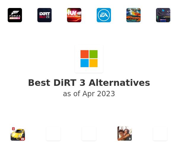 Best DiRT 3 Alternatives