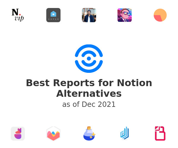 Best Reports for Notion Alternatives