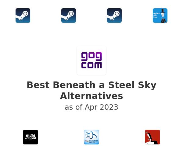 Best Beneath a Steel Sky Alternatives