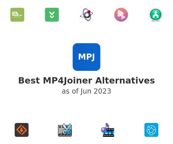 Best MP4Joiner Alternatives