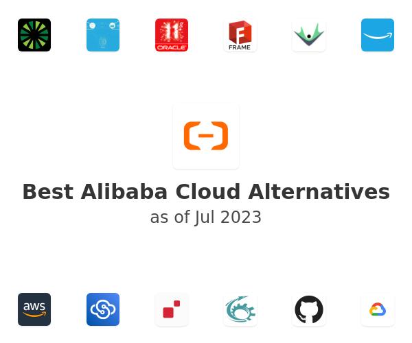 Best Alibaba Cloud Alternatives