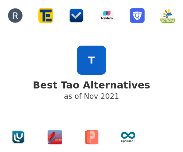 Best Tao Alternatives