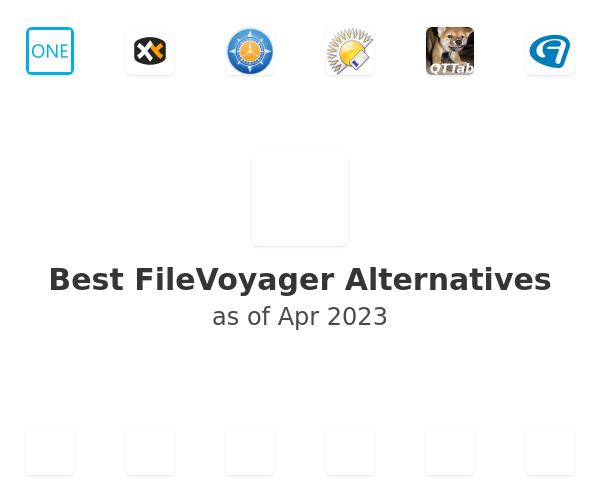 Best FileVoyager Alternatives