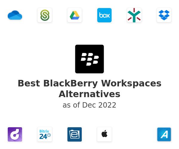 Best BlackBerry Workspaces Alternatives