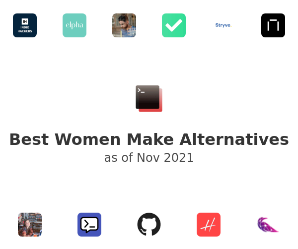 Best Women Make Alternatives