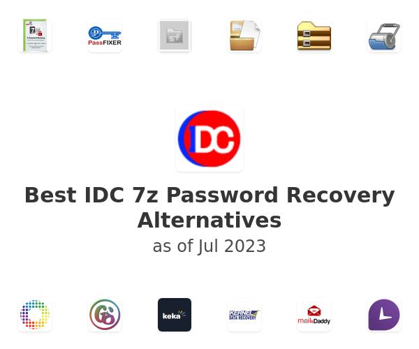 Best IDC 7z Password Recovery Alternatives