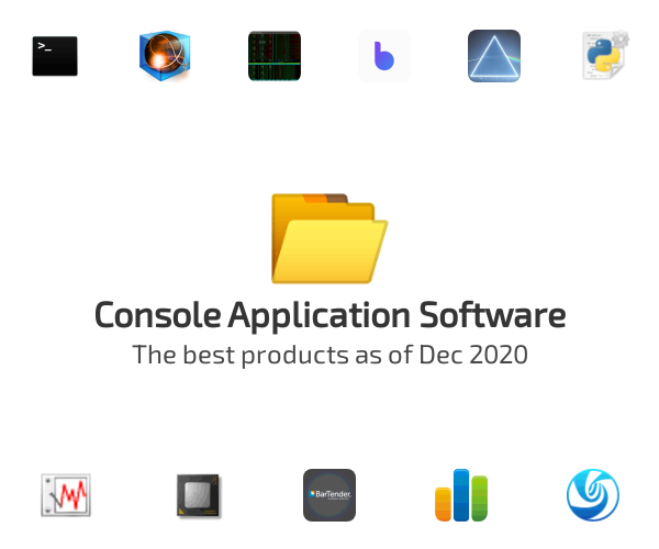 Console Application Software