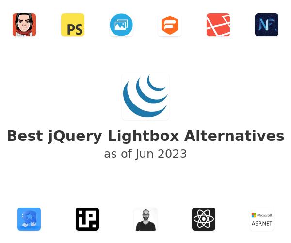 Best jQuery Lightbox Alternatives