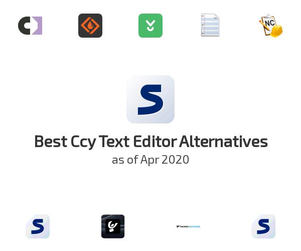 Best Ccy Text Editor Alternatives
