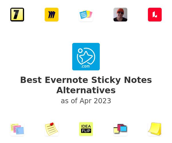 Best Evernote Sticky Notes Alternatives