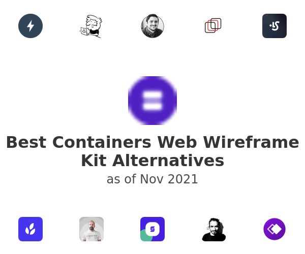Best Containers Web Wireframe Kit Alternatives