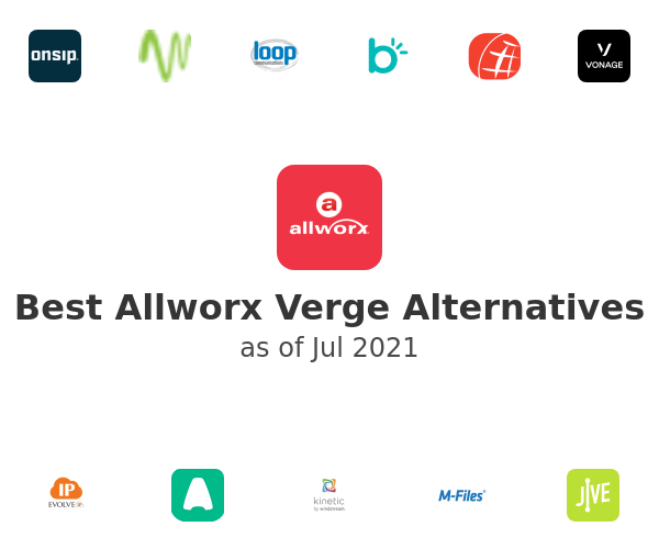 Best Allworx Verge Alternatives