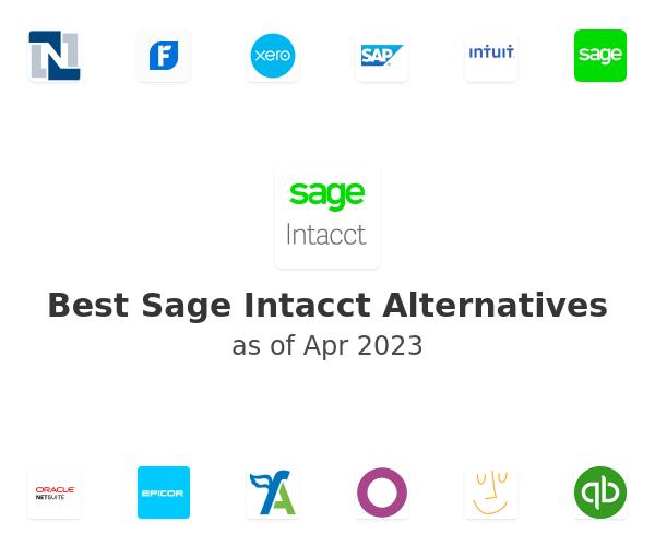 Best Sage Intacct Alternatives