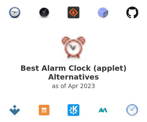 Best Alarm Clock (applet) Alternatives
