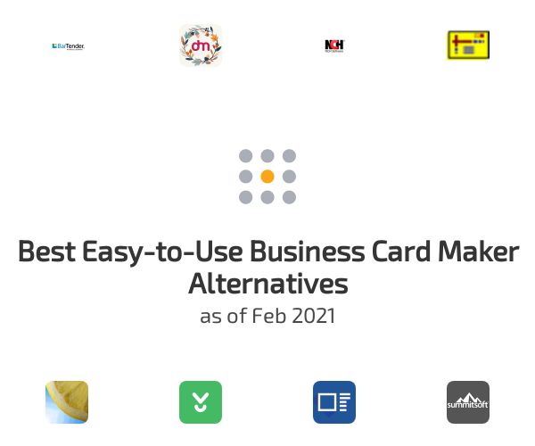 Best Easy-to-Use Business Card Maker Alternatives