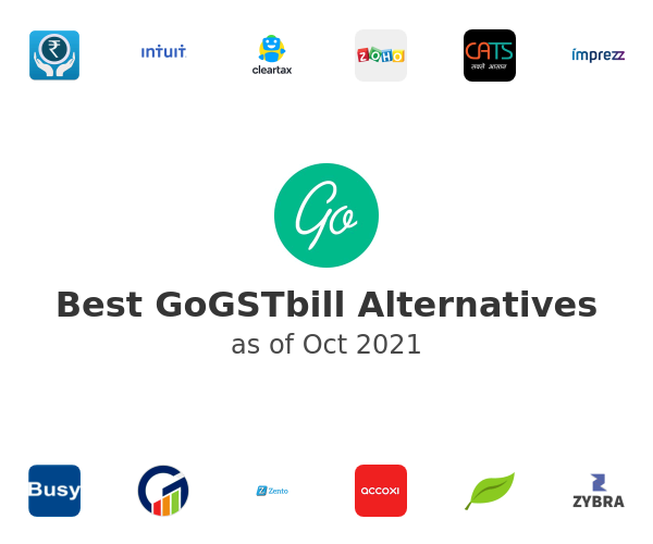 Best GoGSTbill Alternatives