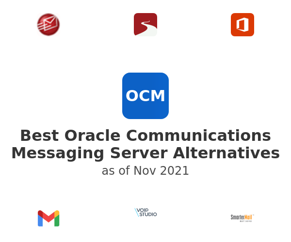Best Oracle Communications Messaging Server Alternatives