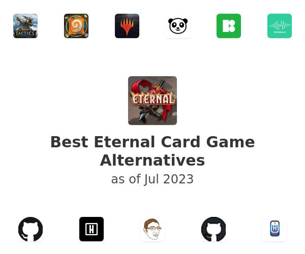 Best Eternal Card Game Alternatives
