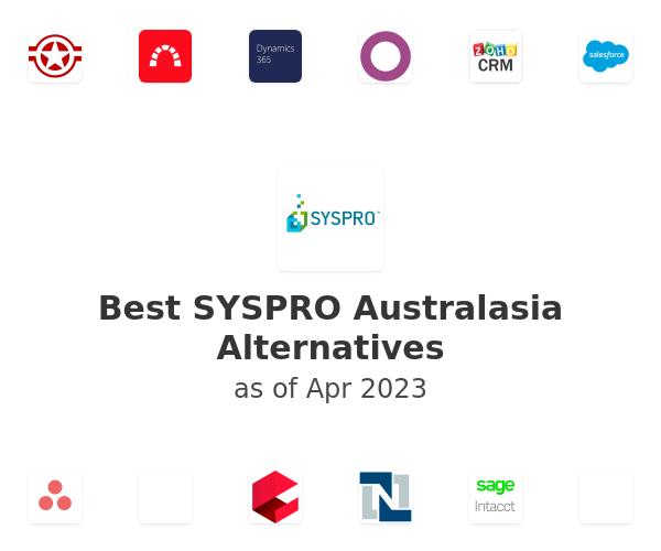 Best SYSPRO Australasia Alternatives