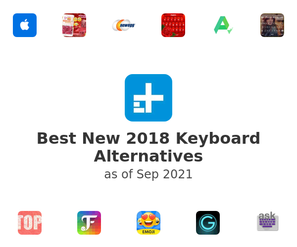 Best New 2018 Keyboard Alternatives