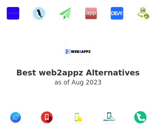 Best web2appz Alternatives