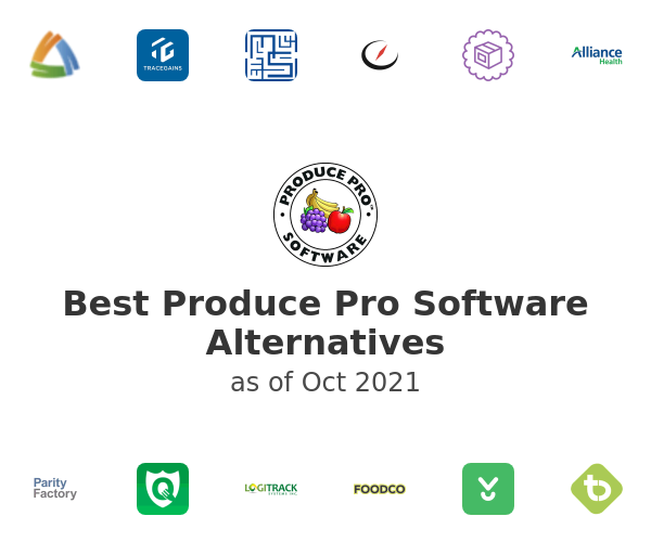 Best Produce Pro Software Alternatives