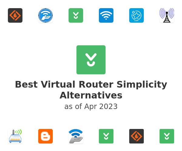 Best Virtual Router Simplicity Alternatives