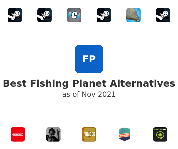 Best Fishing Planet Alternatives