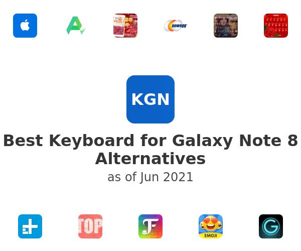 Best Keyboard for Galaxy Note 8 Alternatives