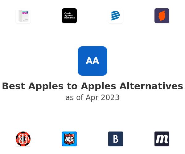 Best Apples to Apples Alternatives