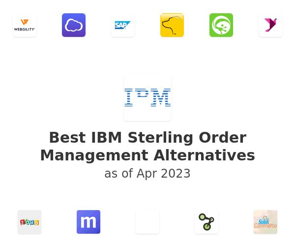 Best IBM Sterling Order Management Alternatives