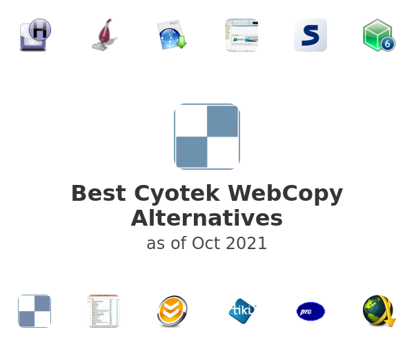 Best Cyotek WebCopy Alternatives