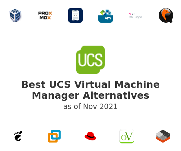 Best UCS Virtual Machine Manager Alternatives