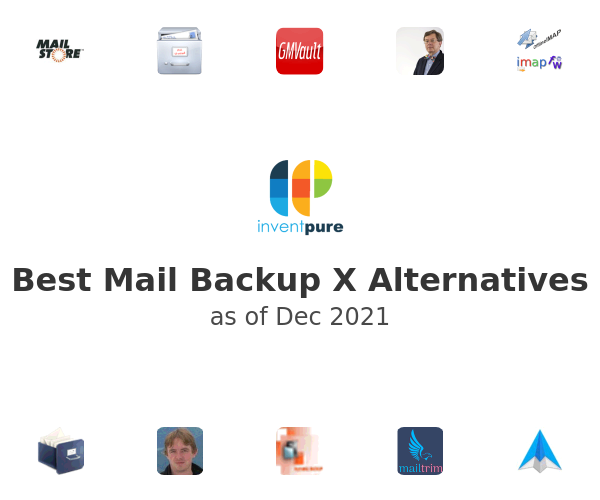 Best Mail Backup X Alternatives