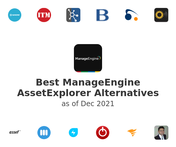 Best ManageEngine AssetExplorer Alternatives