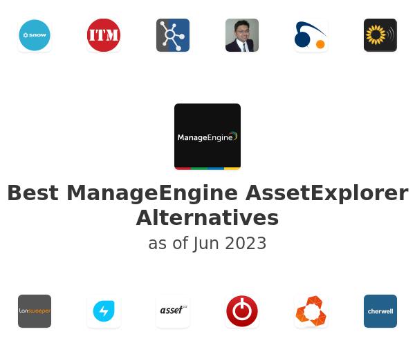 Best ManageEngine AssetExplorer Alternatives