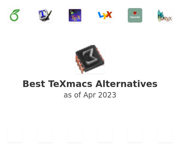 Best TeXmacs Alternatives