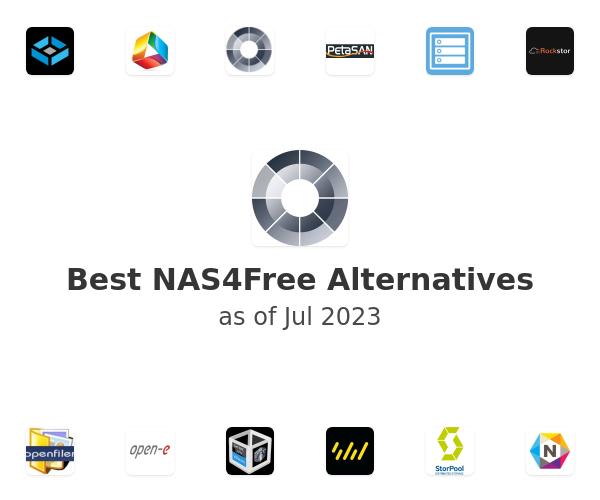 Best NAS4Free Alternatives