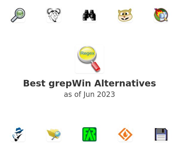 Best grepWin Alternatives