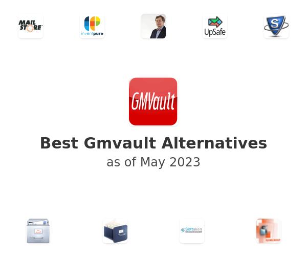 Best Gmvault Alternatives