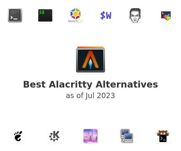 Best Alacritty Alternatives