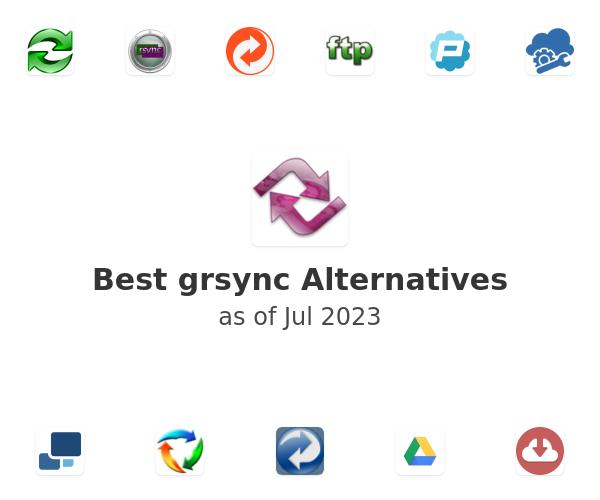 Best grsync Alternatives