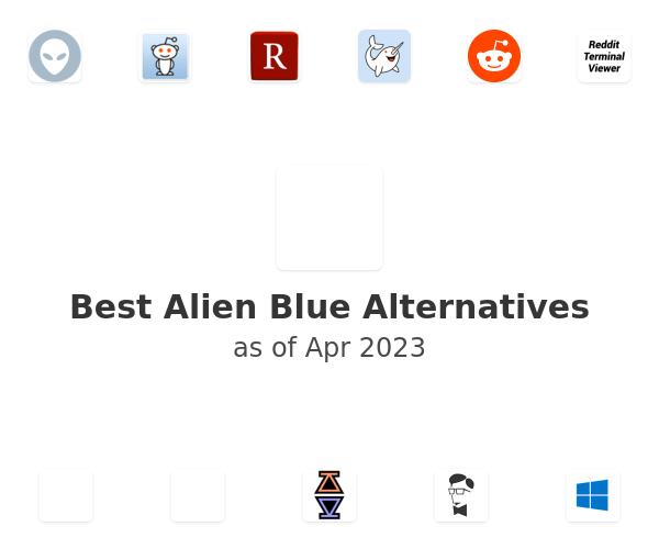 Best Alien Blue Alternatives