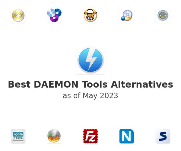Best DAEMON Tools Alternatives