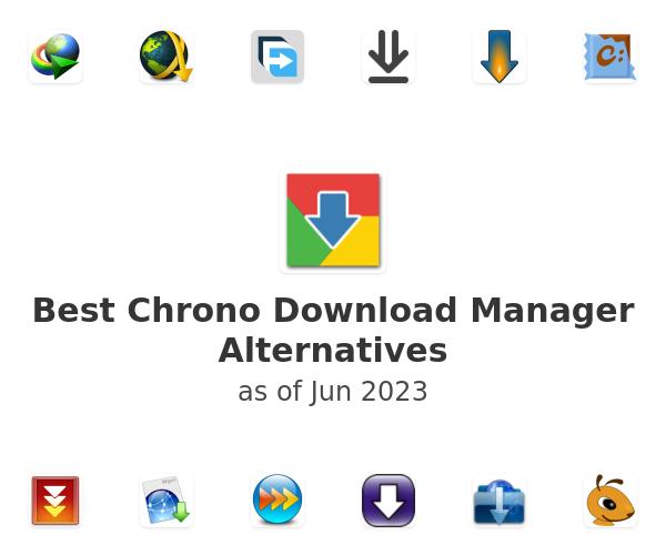 Best Chrono Download Manager Alternatives