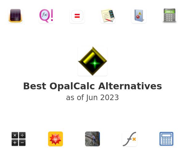 Best OpalCalc Alternatives